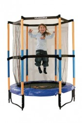 Батут Hudora Safety trampoline Jump in 3.0, 140 см, Blue